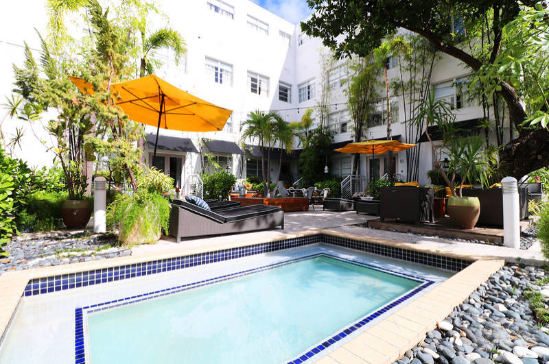Metropole South Beach Courtyard Splash Pool